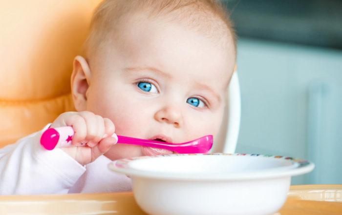 Первый прикорм для детей